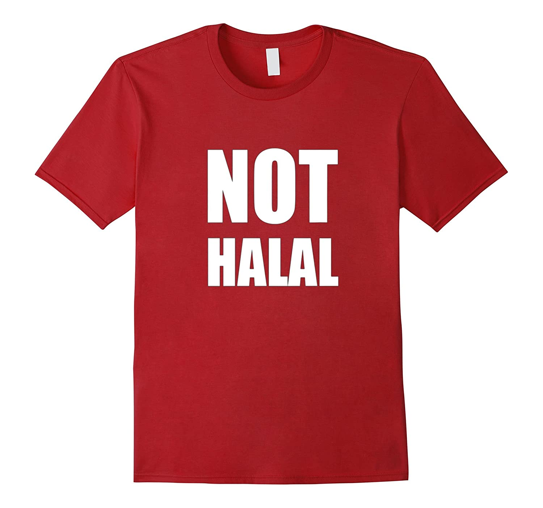Dicky Ticker Not Halal T-shirt Haram Islam Muslim