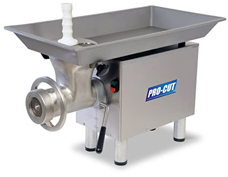 Amazon.com: PRO-CUT KG-22 picadora de carne de acero ...