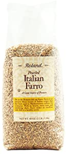 Roland Pearled Farro, 3-Pounds Bag (Packaging May Vary)