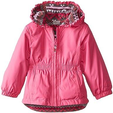 35bfec2c9 Amazon.com  London Fog Baby Girls Reversible Poly  Clothing