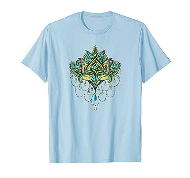 Amazon lotus flower t shirt spiritual buddhist symbol tee clothing mens lotus flower t shirt spiritual buddhist symbol tee 2xl baby blue mightylinksfo