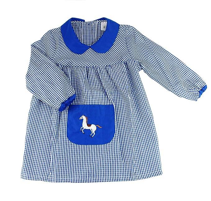 Furein Baby Infantil de Cuadros, Conjunto de Uniforme colegial para niños y niñas. (