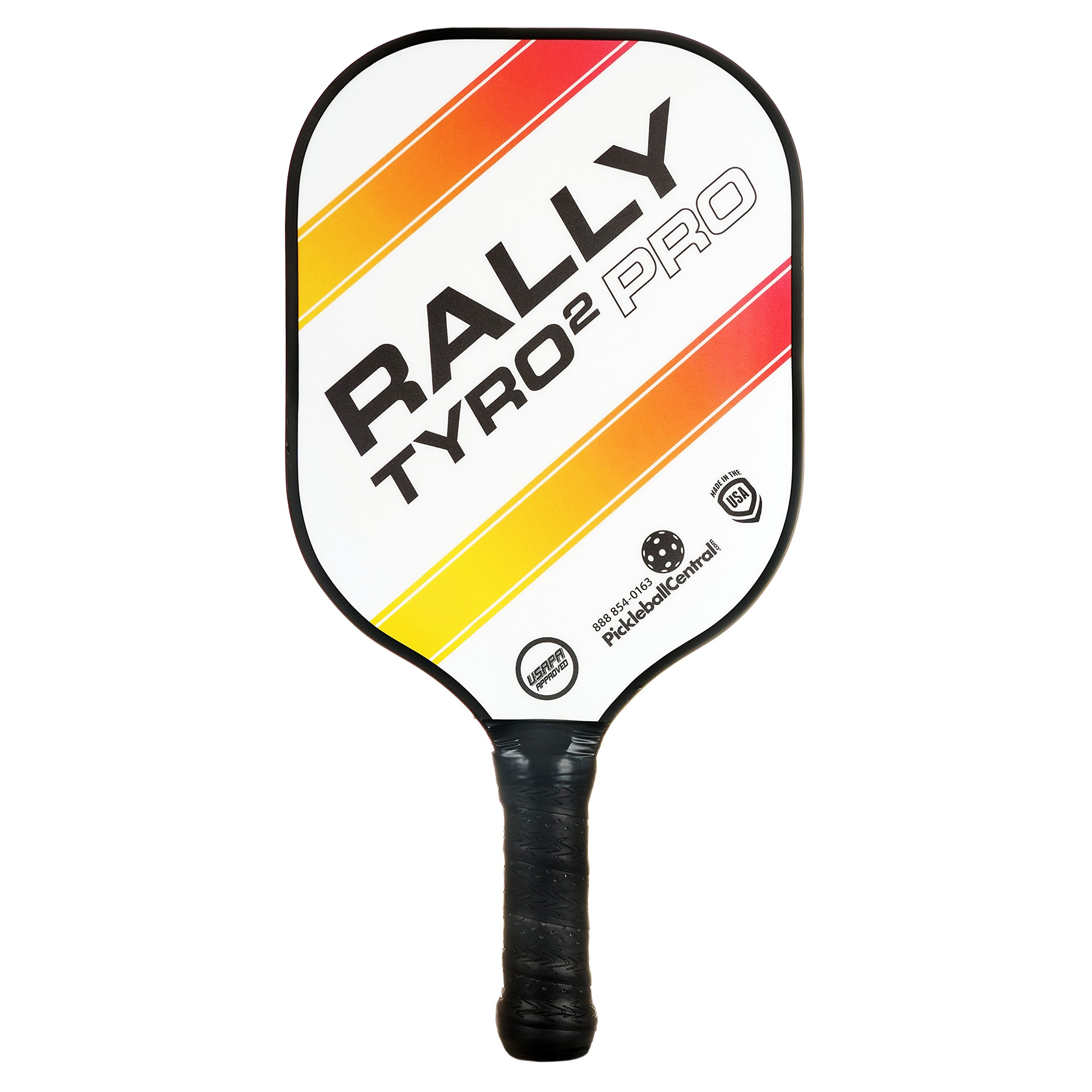PickleballCentral Rally Tyro 2 Pro Pickle Ball Paddle, Single, White by PickleballCentral (Image #1)