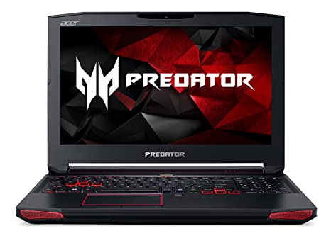 "Acer Predator 15 Gaming Laptop, Core i7, GeForce GTX 1060, 15 6"" Full HD  G-SYNC, 16GB DDR4, 256GB SSD, 1TB HDD, G9-593-72VT"