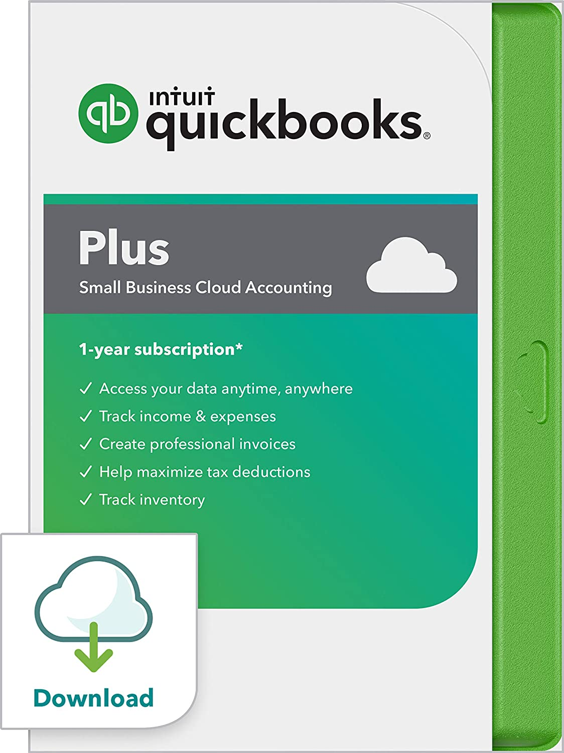 QuickBooks Online Plus 2020 Online Accounting Software for Small Business - 5 User [Online Access]