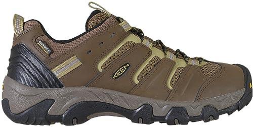 0b4dcb975c KEEN Men's Koven Wp-m Hiking Shoe, Canteen/Dark Olive, 10.5 M US ...