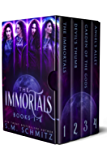 The Complete Immortals Series Box Set: A Fantasy & Mythology Romance Series (The Immortals Series)
