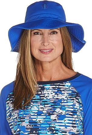 35fc27676f1 Coolibar UPF 50+ Women s Chlorine Resistant Bucket Hat - Sun Protective  (Small Medium