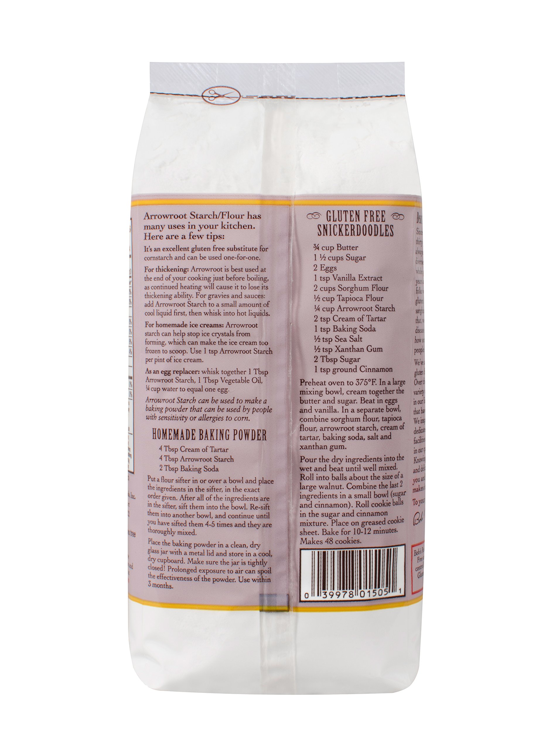 Bob's Red Mill Arrowroot Starch / Flour, 16 Ounces (Packaging May Vary) by Bob's Red Mill (Image #4)