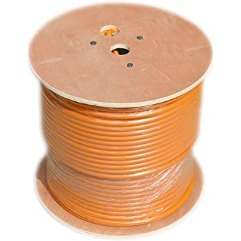 RG11 Coaxial Cable roll of Tri-Shield Underground Drop Direct Burial Flooded Coax Digital Cabling