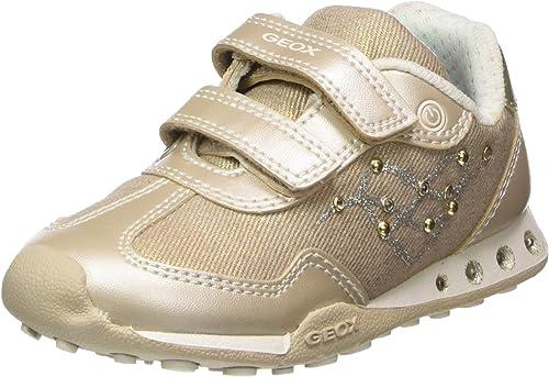 Geox Jr New Jocker D, Sneakers Basses Fille