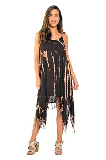 81be150d853 Riviera Sun Fringe Dress Summer Dresses at Amazon Women s Clothing ...