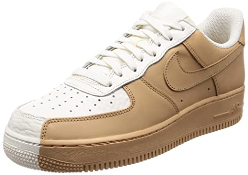 super popular 5d5df 05e4a NIKE Men's Air Force 1 07' Premium Shoe Split White/Tan ...