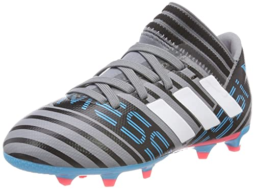 d7543748ff8f Adidas Nemeziz Messi 17.3 Firm Ground Junior Football Boots - Grey-4