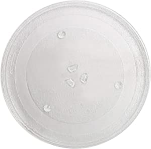 "AMI PARTS WB39X10003 12.5"" Microwave Glass Plate/Microwave Glass Turntable Tray Replacement - 12 1/2 Inches,Compatible with G.E&Samsung-Replaces WB39X10002 WB48X10005"
