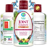 Joint Complete Premium - Liquid Joint Supplement with Liquid Glucosamine Sulfate, Chondroitin, MSM & Hyaluronic Acid – For Bone, Joint Health, & Joint Pain Relief - 96% Max Absorption– 32oz, 32 serv
