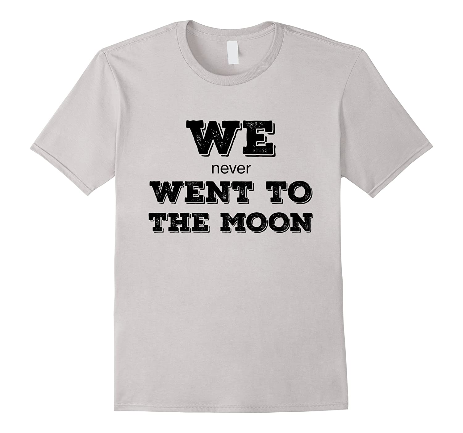 We Never Went To The Moon T-shirt White-CD