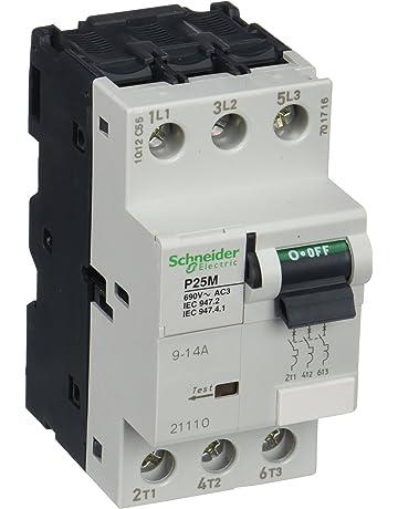 Schneider Electric 21110 Guardamotor P25M 14 A, 3 P 3d, Unidad de Desconexión Termomagnética