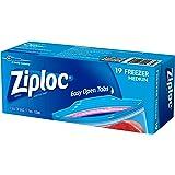 Ziploc Freezer Bag Medium, 19 count