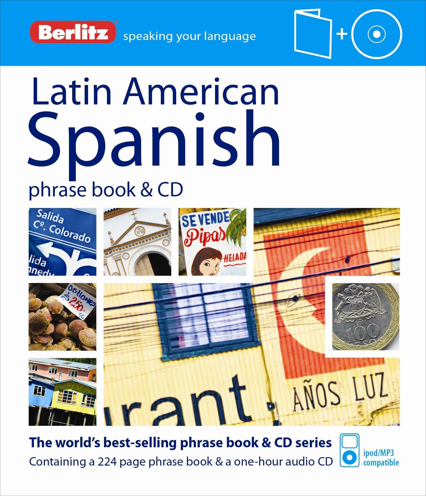 Read Online Berlitz Latin American Spanish Phrase Book & CD (Spanish Edition) pdf