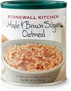 product image for Stonewall Kitchen Maple and Brown Sugar Oatmeal, 14 Ounce
