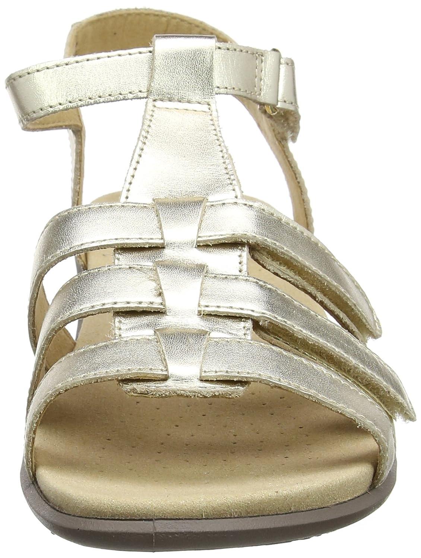 Hotter Damen EXF Sol EXF Damen Offene Sandalen mit Keilabsatz, Beige (Soft Gold 135) b8ea01