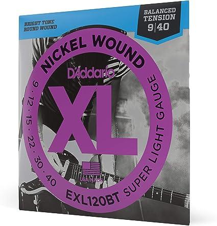 DAddario EXL110W, cuerdas con entorchado en níquel para guitarra ...