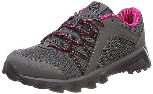 Reebok Trailgrip 6.0, Zapatillas de Senderismo para Niñas, Gris (Ash Grey/Black
