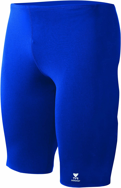 TYR Boys Durafast Elite Solid Jammer Swim Suit