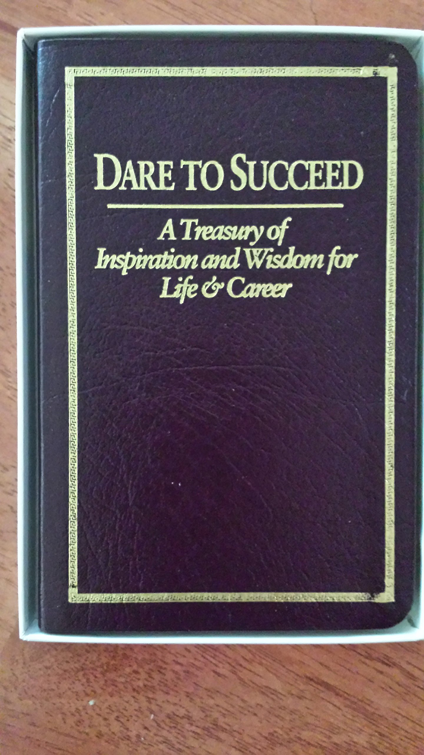 Dare To Succeed Book