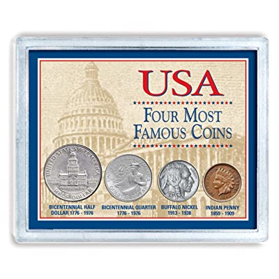 American Coin Treasures USA Four Most Famous Coins: Toys & Games