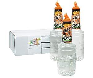 Finest Call Premium Triple Sec Syrup Drink Mix, 1 Liter Bottle (33.8 Fl Oz), Pack of 3