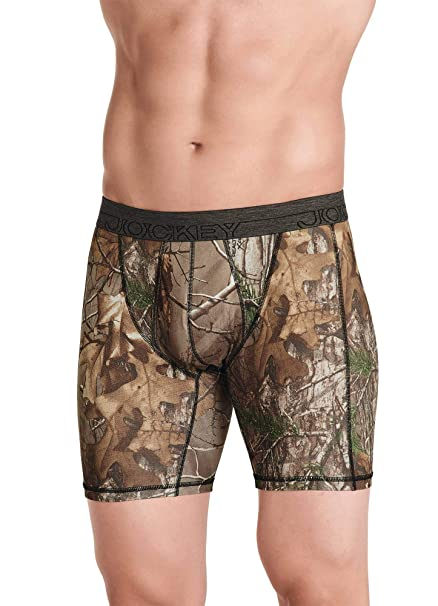 big clearance sale drop shipping hot sale Jockey Men's Underwear Light Layer 365 Realtree Boxer Brief