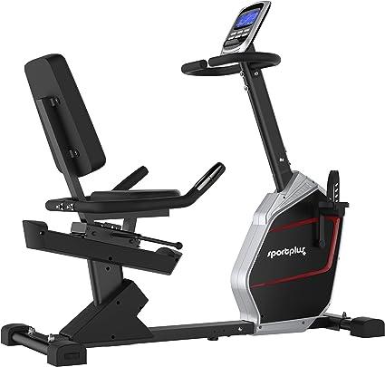 portPlus SP-RB-9900-iE Bicicleta Estática con Aplicación para Smartphone - 9 kg de Masa de Volante de Inercia, 24 Niveles de Resistencia - Peso Máx. 150 kg: Amazon.es: Deportes y aire libre