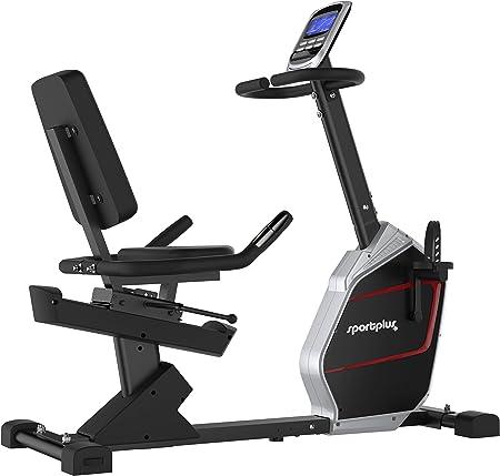 portPlus SP-RB-9900-iE Bicicleta Estática con Aplicación para ...