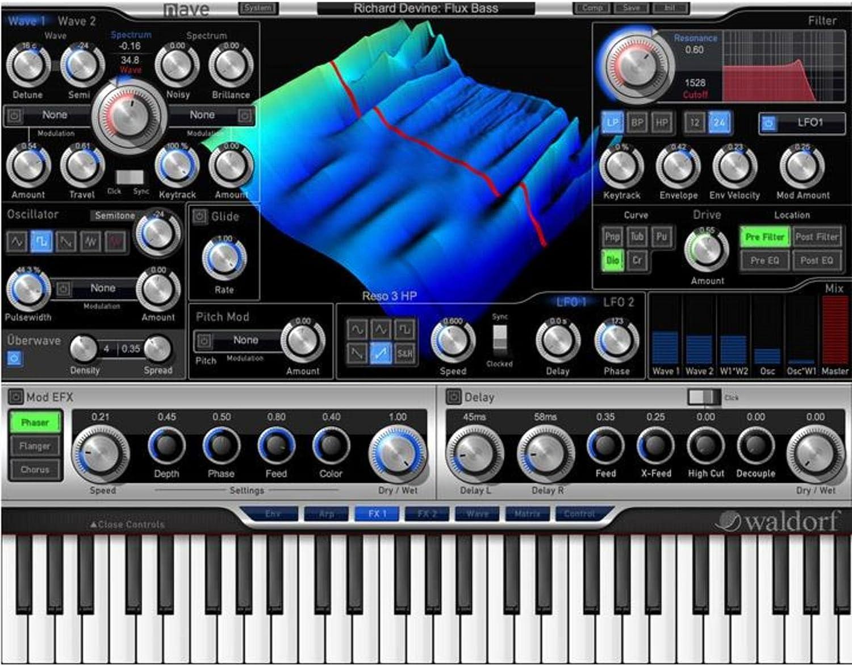 Waldorf nave | Studio de software de VST de sintetizador ...