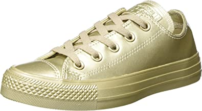 Converse Chuck Taylor All Star, Basses Mixte Adulte-Or Light Gold, 41,5