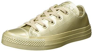 Converse Unisex Adults Chuck Taylor All Star Trainers, Gold (Light Gold/Light