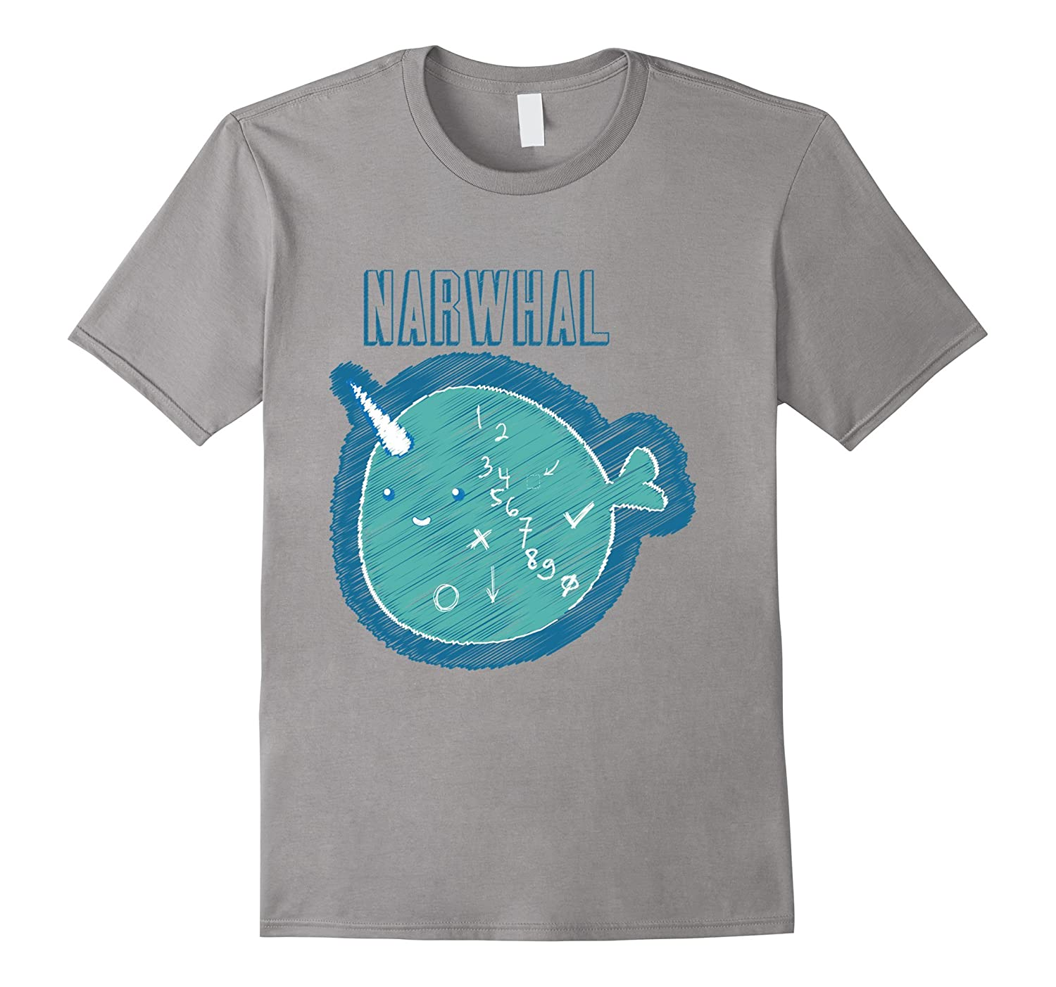 Narwhal T-Shirt-Art