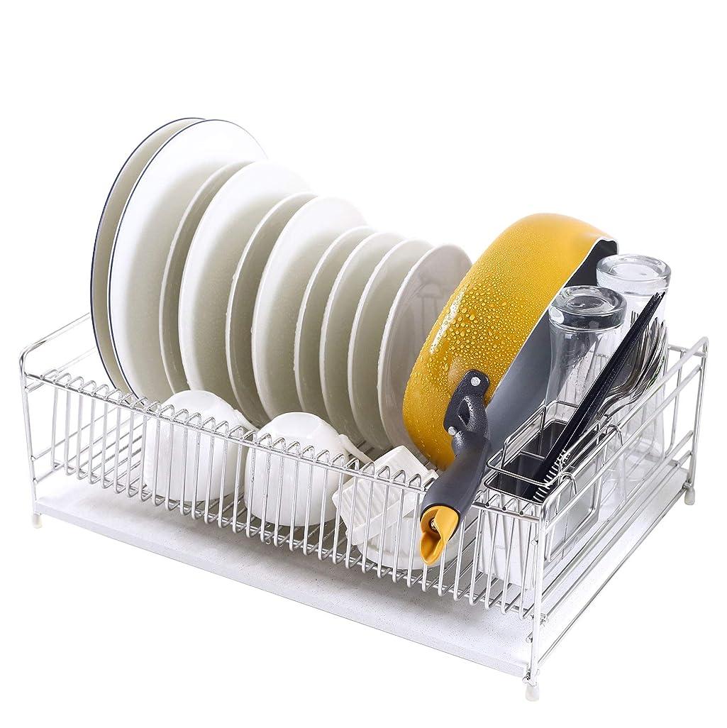 ジャグリングささやき識別するパール金属 食器 水切り かご シンク スライド式 シンプル?ウェア HW-7304