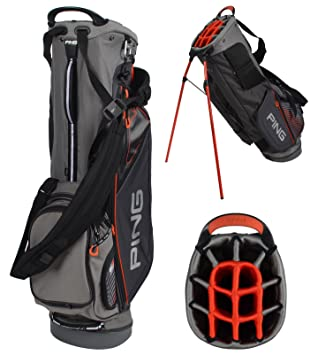 Ping Hoofer 14 Stand Bag (Carbon Steel Ember 7b2f9db689031
