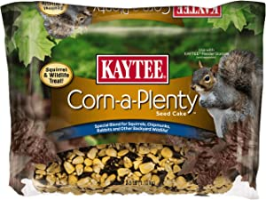 Kaytee Corn A Plenty Cake Pet Food, 2.5-Pound