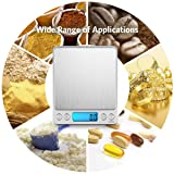 AMIR Digital Kitchen Scale, 3000g 0.01oz/ 0.1g