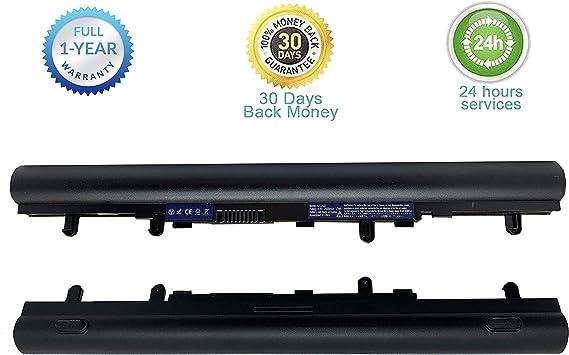 4 Zellen 2500mAh 14.4V Schwarz KDJ AL12A32 Laptop Akku f/ür Acer Aspire E1-510 E1-510P E1-522 E1-530 E1-530G E1-532 E1-570 E1-570G E1-572 E1-572G