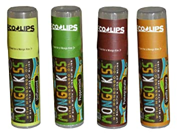 Eco Lips Inc., Mongo Kiss, Lip Balm, Peppermint, .25 oz (7 g)(pack of 3) Orico London - Age Resist Trio: Face Oil 30ml/1.01oz + Firming Elixir 30ml/1.01oz + Eye Elixir 25ml/0.85oz -3pcs