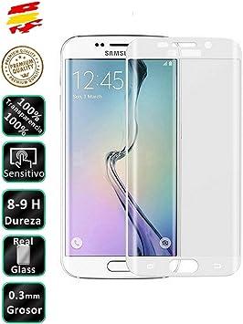 Movilrey Protector para Samsung Galaxy S6 Edge Color Blanco ...