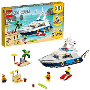 LEGO Creator 3in1 Cruising Adventures 31083 Building Kit (597 Pieces)