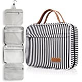 Toiletry Bag, WDLHQC Travel Hanging Makeup Bag ,Waterproof Large Cosmetic Make up Organizer for Travel Accessories Kit,Bathro