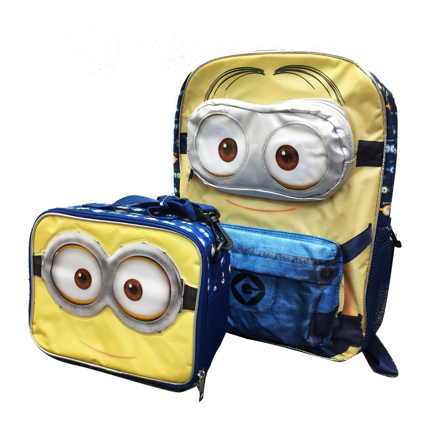 e6164020dd46 Amazon.com: Despicable Me Minions Backpack with Detachable Insulated ...
