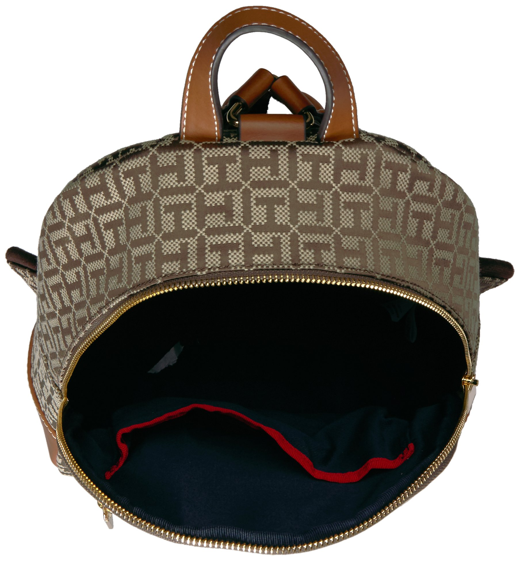 Tommy Hilfiger Women's Backpack Jaden, Tan Dark Chocolate by Tommy Hilfiger (Image #3)